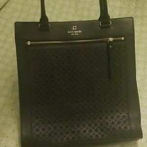 Beautiful Kate Spade Black Tote
